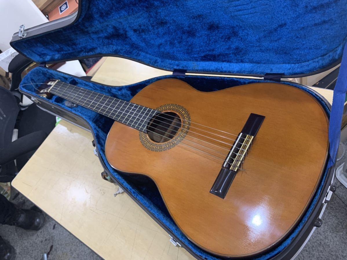 美品 タムラギター P50 クラシックギター 1969年製 ハードケース付き