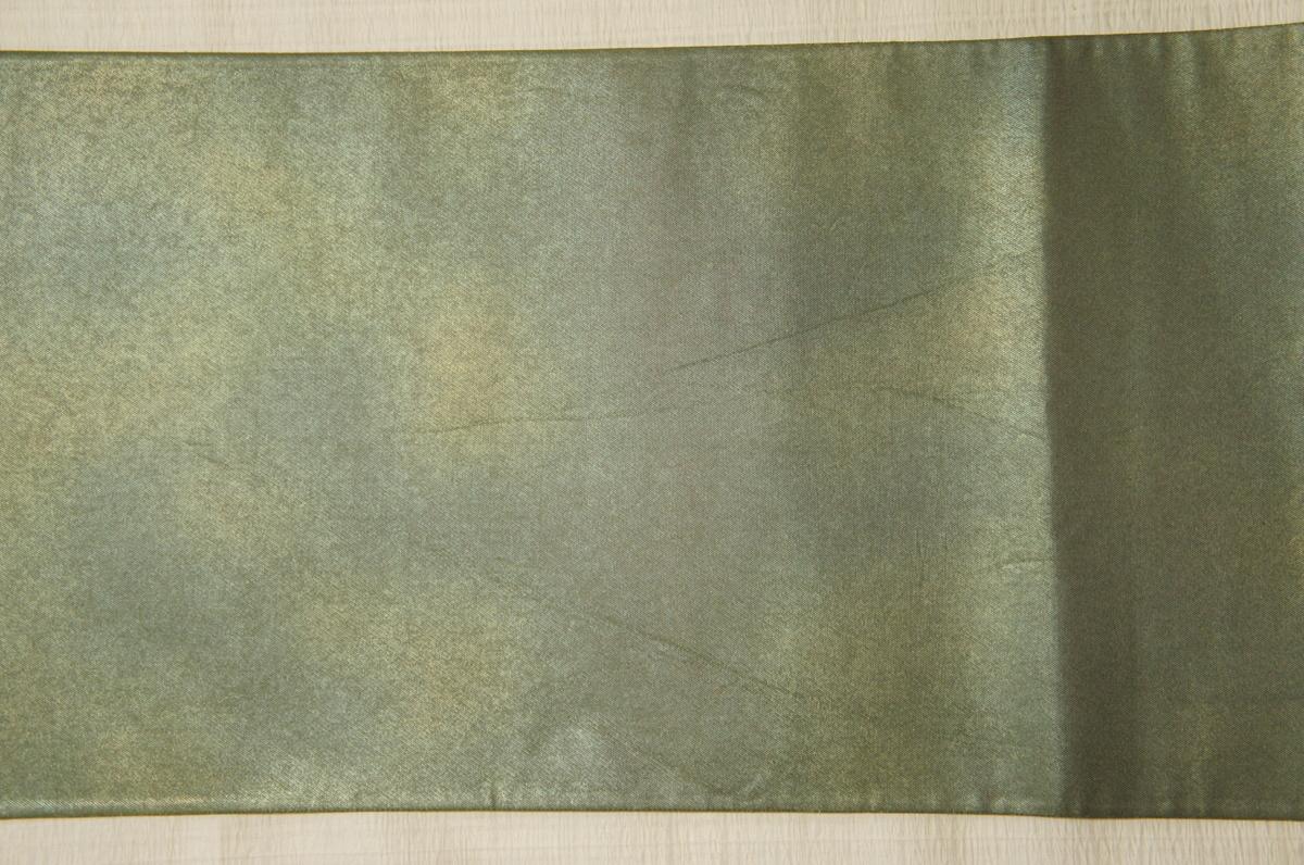 逸品『山口伊太郎』岩井茶色金焼箔『鯉』袋帯[O11744]_『山口伊太郎』岩井茶色金焼箔『鯉』袋帯