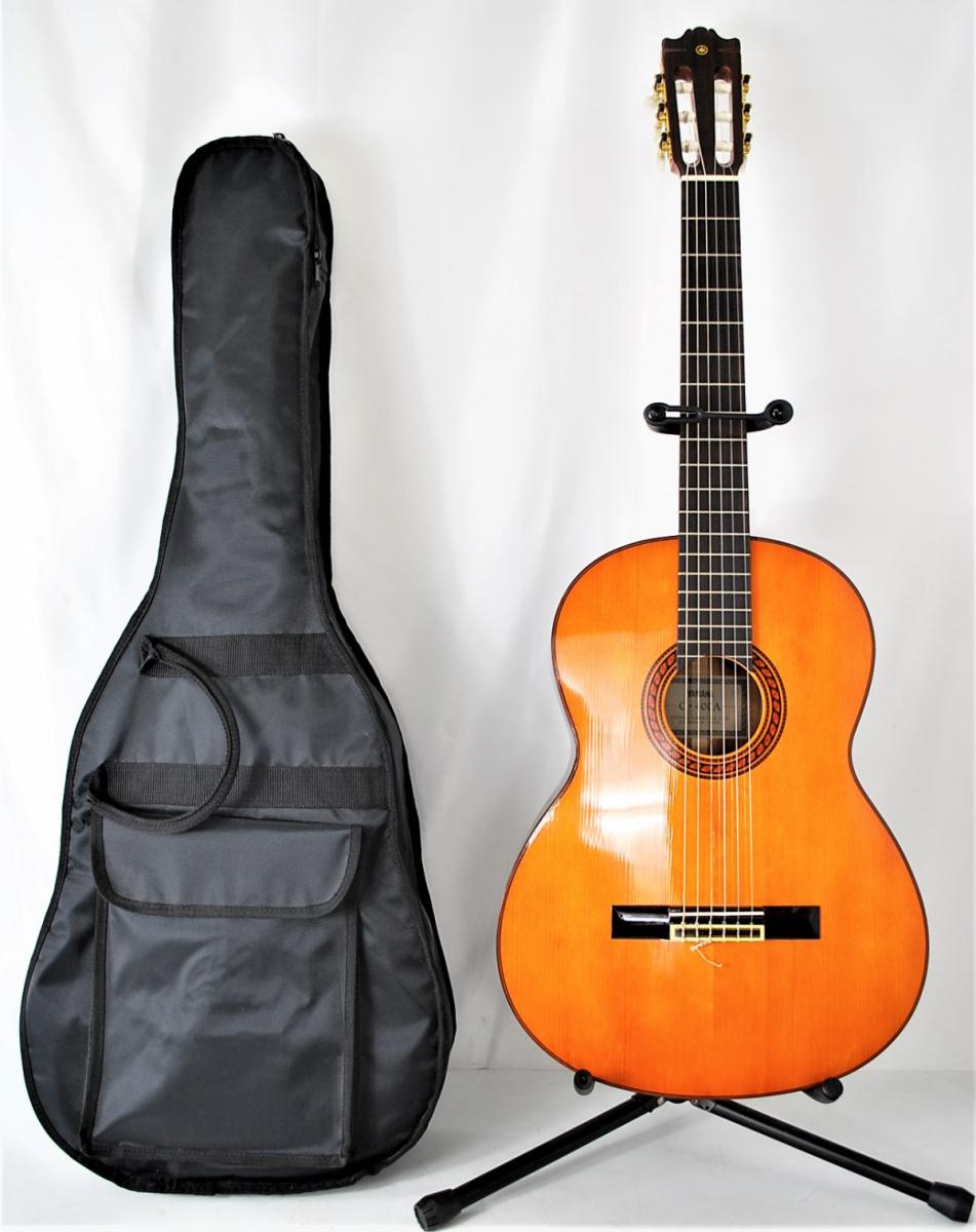 50RIN【超美品】 YAMAHA C-400A ヤマハ クラシックギター 2WAY セミソフ?#21435;暴`ス付き 弦楽器 日本楽器 浜松