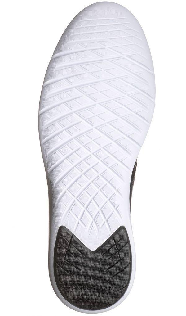 Cole Haan 28.5cm チャッカ ブラック 黒 ブーツ スニーカー レザー 革 レースアップ ビジネス ローファー スリッポン ZZ22_画像9