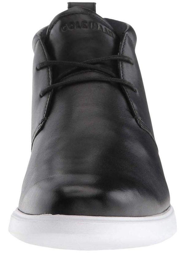 Cole Haan 28.5cm チャッカ ブラック 黒 ブーツ スニーカー レザー 革 レースアップ ビジネス ローファー スリッポン ZZ22_画像7
