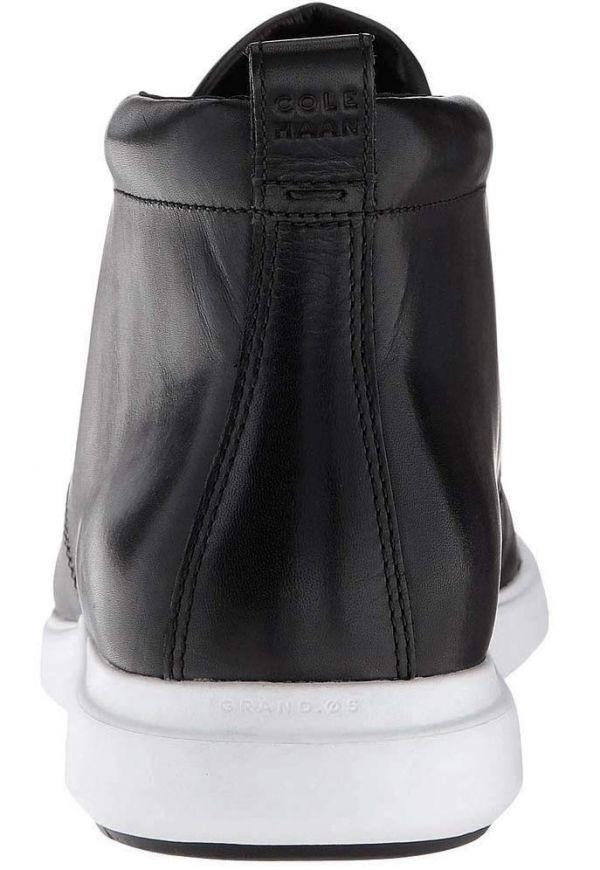 Cole Haan 28.5cm チャッカ ブラック 黒 ブーツ スニーカー レザー 革 レースアップ ビジネス ローファー スリッポン ZZ22_画像6