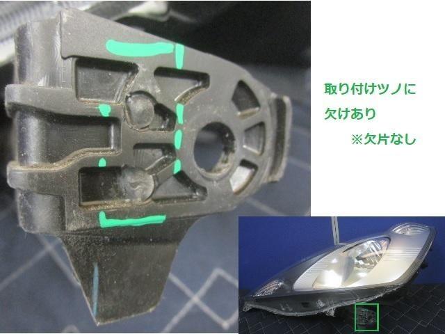 (4) GE6 フィット 前期 左ヘッドライト ASSY STANLEY P6865 純正 33150-TF0-003 ハロゲン (左ヘッドランプ) (G-2871)_画像3