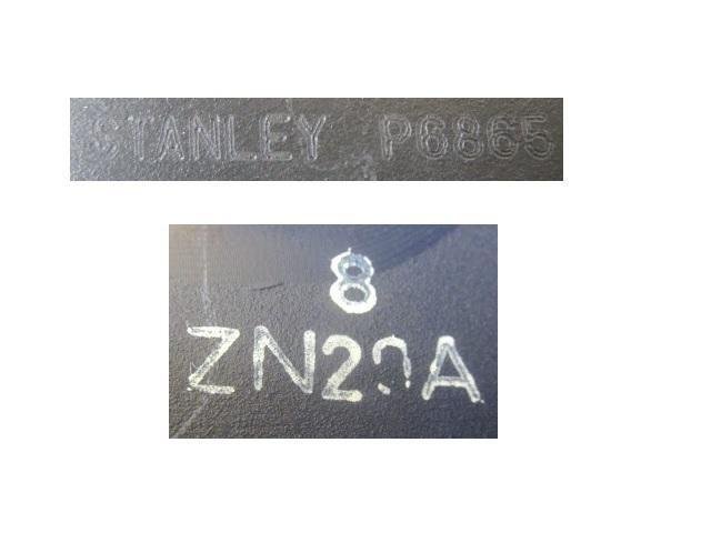 (4) GE6 フィット 前期 左ヘッドライト ASSY STANLEY P6865 純正 33150-TF0-003 ハロゲン (左ヘッドランプ) (G-2871)_画像9