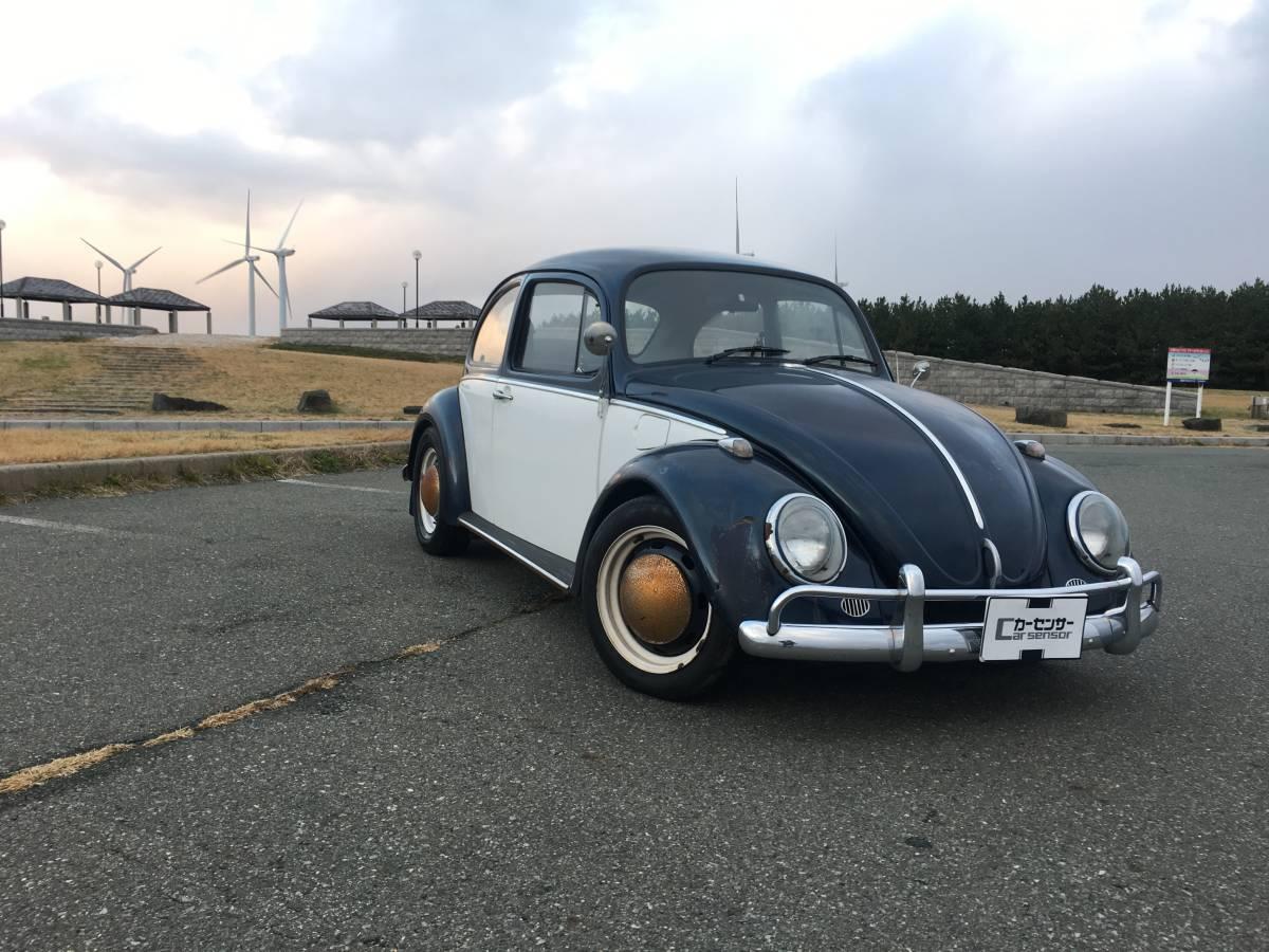 売切り☆左H 車検1年付 VW TYPE1 メキシコビートル 空冷 ビンテージLOOK カスタム _画像3