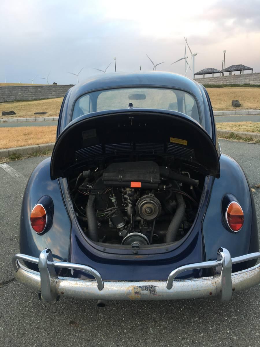 売切り☆左H 車検1年付 VW TYPE1 メキシコビートル 空冷 ビンテージLOOK カスタム _画像8