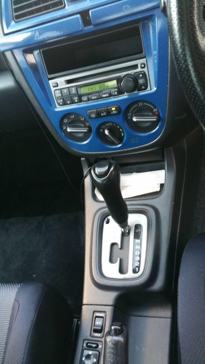 陸送可能 インプレッサ GDA セダン 2.0L EMPI DOHC ターボ フルタイム4輪駆動 スポーツシフト WRブルー マイカ タイミングベルト交換済み_画像9