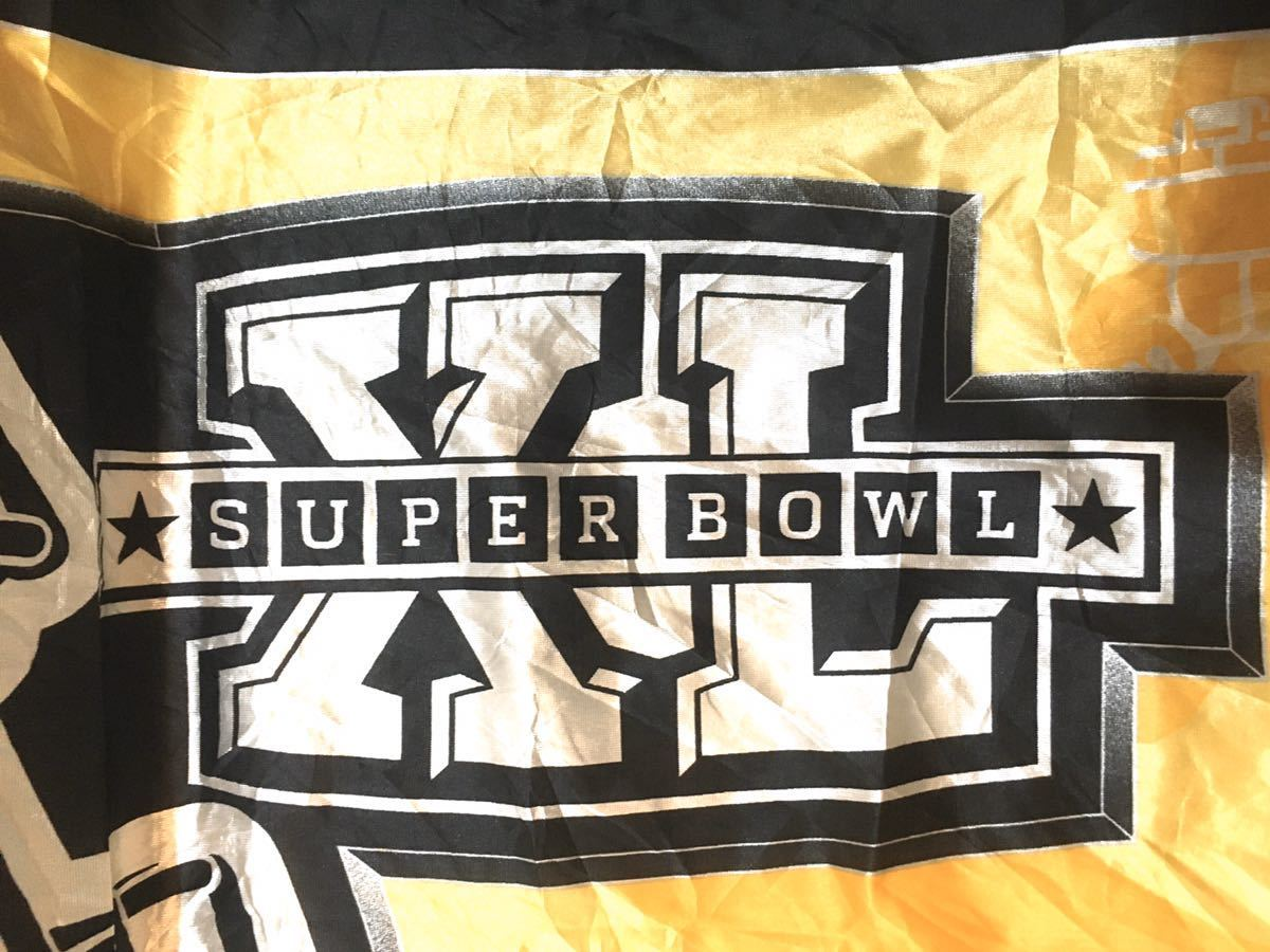 アメリカ superbowl deadstock detroit スーパーボウル デトロイト ラグビー アメリカ古着 アメフト アメリカンフットボール_画像3