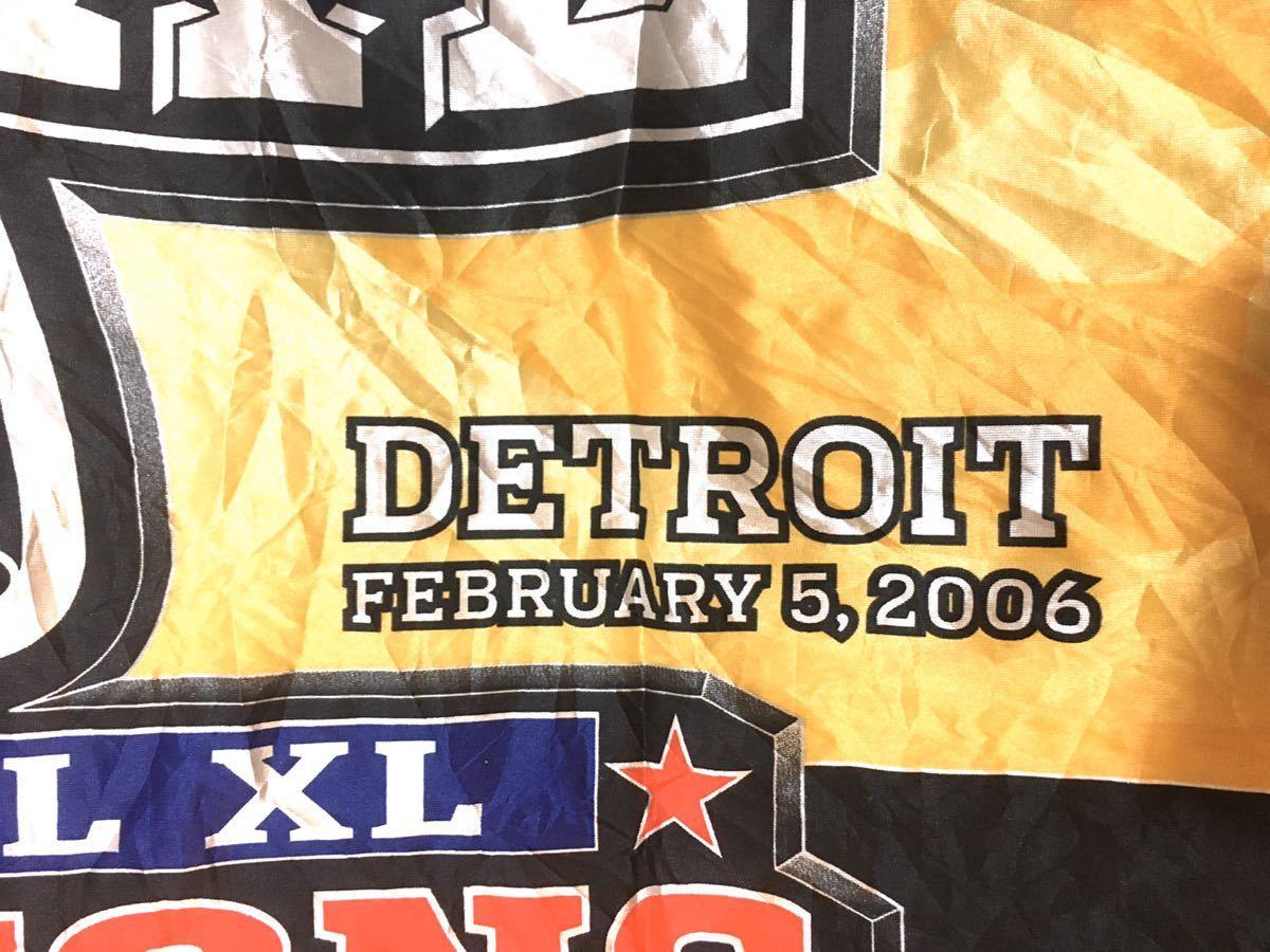 アメリカ superbowl deadstock detroit スーパーボウル デトロイト ラグビー アメリカ古着 アメフト アメリカンフットボール_画像4