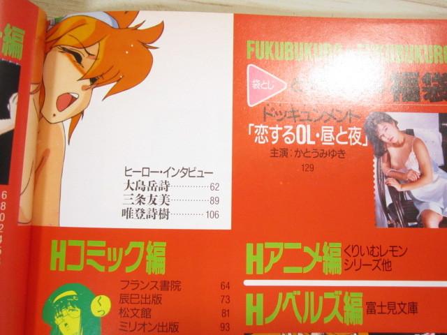 P07◆ちょっとエッチな福袋 第3集 コンプティーク編◆富士見書房 1989年◆袋とじ未開封◆_画像4