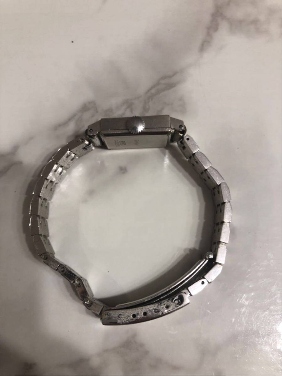 CITIZEN シチズン GRACE グレース 23石 K14WG 金無垢 レディースウォッチ 腕時計 アンティーク 585刻印有り_画像3