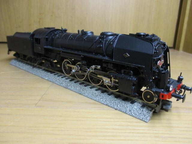 Fulgurex/天賞堂製:SNCF 141R  (ミカド)黒色 元箱付き 新同品_画像3