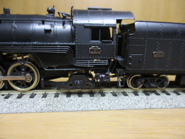 Fulgurex/天賞堂製:SNCF 141R  (ミカド)黒色 元箱付き 新同品_画像7