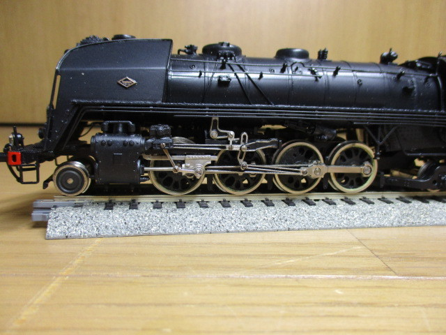 Fulgurex/天賞堂製:SNCF 141R  (ミカド)黒色 元箱付き 新同品_画像9