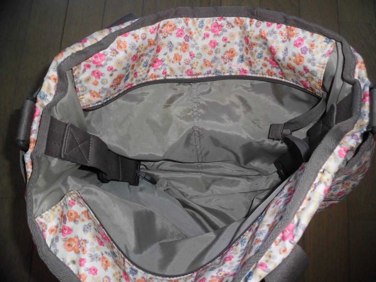 レスポートサック★ライアンベビートート、花柄ママバッグ、マザーズバッグ、大き目バッグ、大容量_画像4