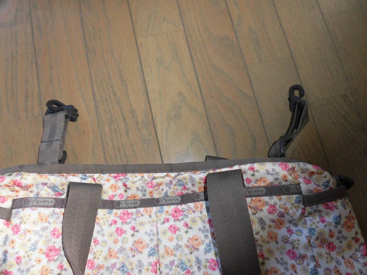 レスポートサック★ライアンベビートート、花柄ママバッグ、マザーズバッグ、大き目バッグ、大容量_画像5