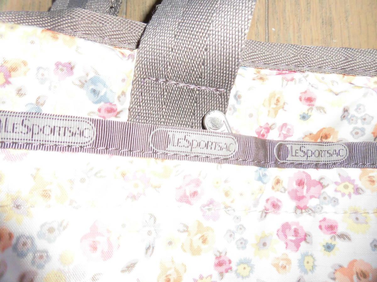 レスポートサック★ライアンベビートート、花柄ママバッグ、マザーズバッグ、大き目バッグ、大容量_画像6