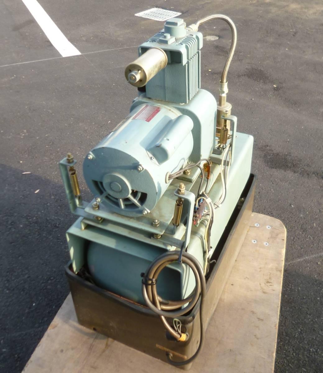 K7096c モリタ 日立 歯科用コンプレッサー A-9 ハイブロウ 100V 60Hz 4.8kg/cm^2_画像3