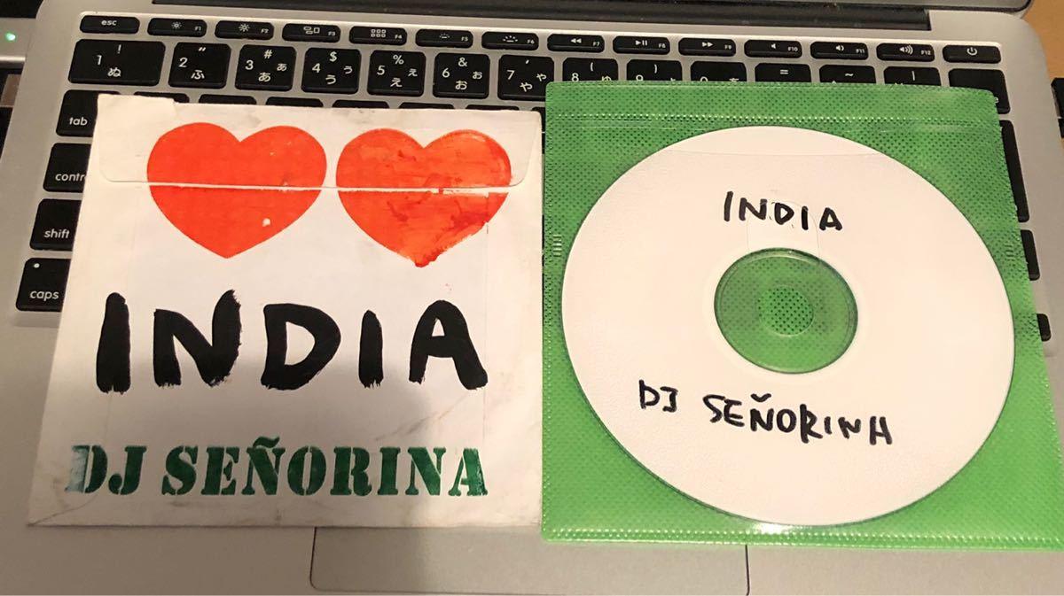 MIXCD DJ G.RINA SENORINA INDIA HIP HOP MURO KIYO クボタタケシ 藤原ヒロシ KOCO KENTA MINOYAMA_画像1