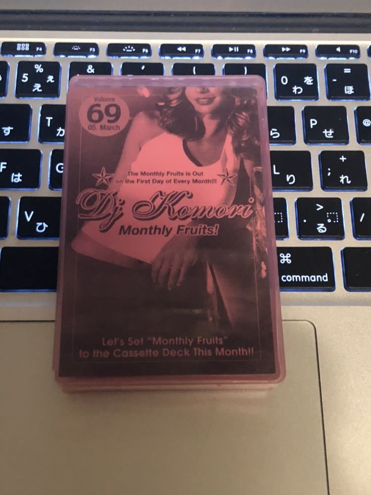 CD付 R&B MIXTAPE DJ KOMORI MANTHLY FRUITS VOL 69 MIXCD KAORI DADDYKAY DDT TROPICANA MURO KIYO KOCO_画像1