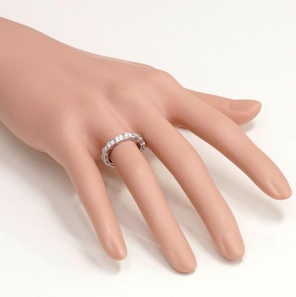 BVLGARI ブルガリ セルペンティ リング フルパヴェ ダイヤモンド 750WG(K18WG) #51(10号弱)_画像4