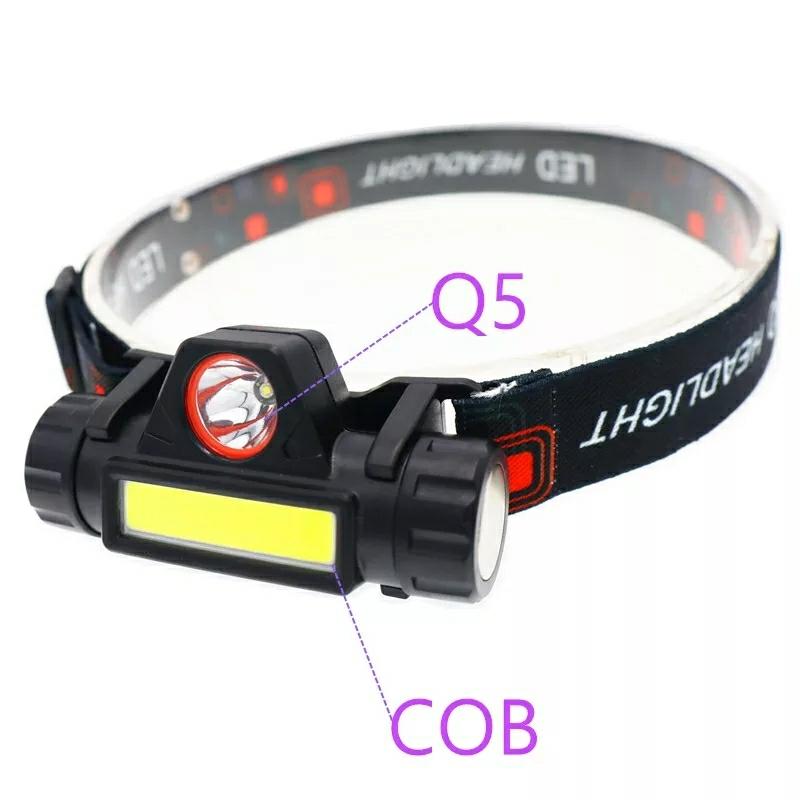 【送料無料】LEDヘッドライト 超強力 LED ライト 懐中電灯 防犯 防災 アウトドア ウオーキング 携帯ライト LEDハンディライト _画像8