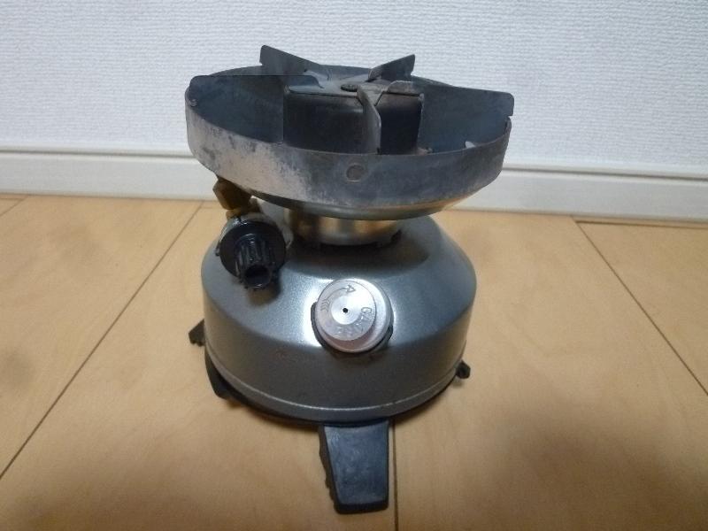 レア! Coleman コールマン PEAK1 シングルバーナー シングルストーブ Made in U.S.A _画像2