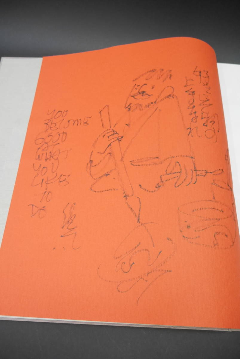 33 直筆自画 サイン有 板画 クリフトン・カーフ KARHU PRINTS 棟方志功 バーナード・クリッシャー 宮下登喜雄 昭和50年 定価38,000円_画像3