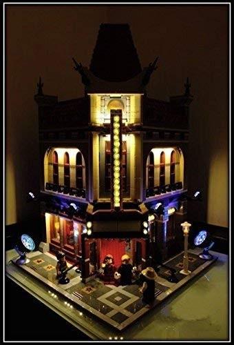 MOC LEGO レゴ クリエイター 10232 互換 パレスシネマ Palace Cinema LED ライト キット DL084_画像2