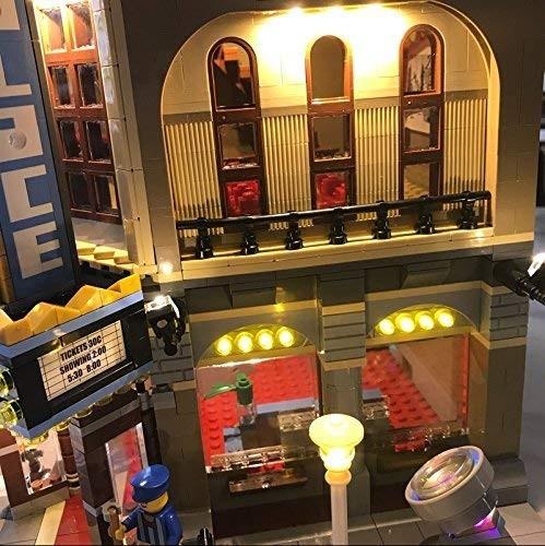 MOC LEGO レゴ クリエイター 10232 互換 パレスシネマ Palace Cinema LED ライト キット DL084_画像4