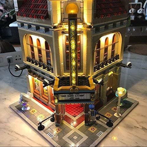 MOC LEGO レゴ クリエイター 10232 互換 パレスシネマ Palace Cinema LED ライト キット DL084_画像3