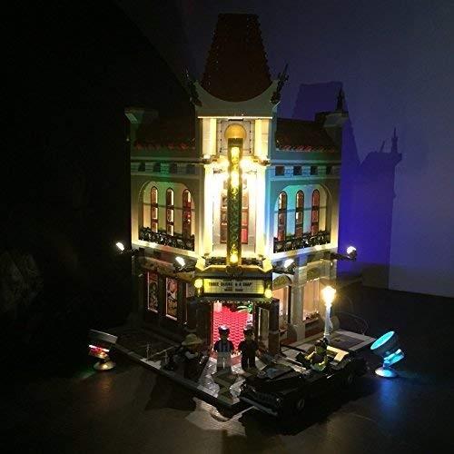 MOC LEGO レゴ クリエイター 10232 互換 パレスシネマ Palace Cinema LED ライト キット DL084_画像1