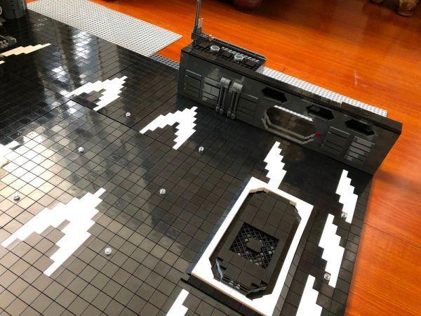 MOC LEGO レゴ ブロック 05132 75192 互換 7805pcs スター・ウォーズ UCS ミレニアム・ファルコン ドック ベイ 格納庫 DL012_画像5
