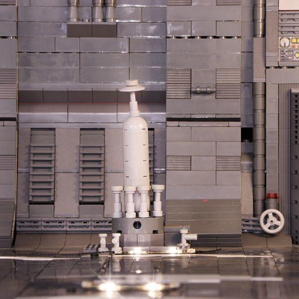 MOC LEGO レゴ 05132 75192 互換 7805pcs スター・ウォーズ UCS ミレニアム・ファルコン ドック ベイ 格納庫 LEDライト付き DL013_画像4