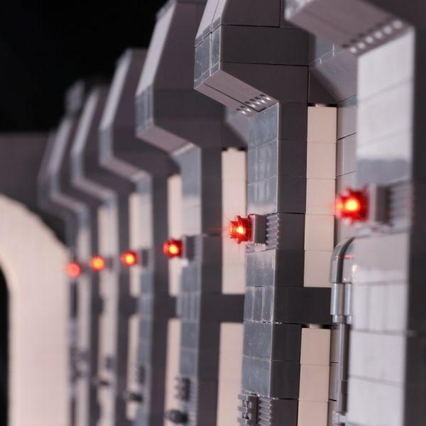 MOC LEGO レゴ 05132 75192 互換 7805pcs スター・ウォーズ UCS ミレニアム・ファルコン ドック ベイ 格納庫 LEDライト付き DL013_画像6
