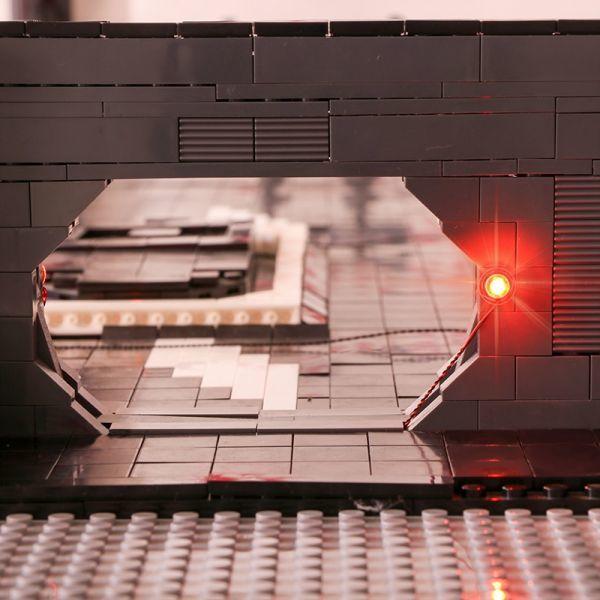 MOC LEGO レゴ 05132 75192 互換 7805pcs スター・ウォーズ UCS ミレニアム・ファルコン ドック ベイ 格納庫 LEDライト付き DL013_画像8