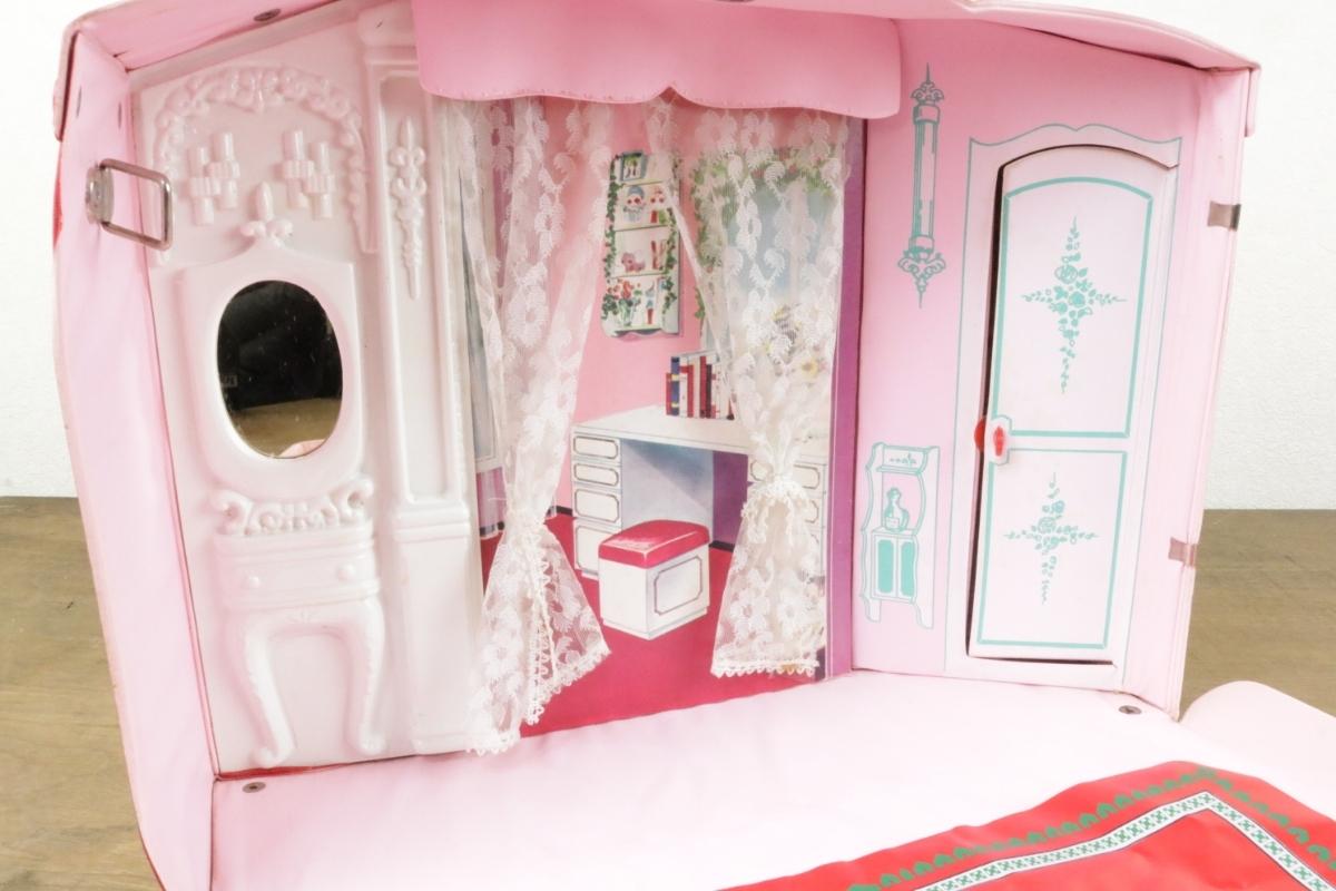 昭和43年 当時物 リカちゃんハウス/初代/Licca HOUSE(旧タカラ)】牧美也子 着せ替え人形 オモチャ 玩具 現状品/昭和レトロビンテージ_画像7