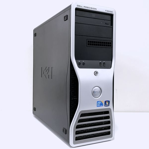 @A769 爆速10秒起動 6コア12スレッド DELL Precision T3500 Xeon-X5650-3.06GHz/Mem-8G/新品SSD-500G/Office2018/Quadro2000/RW/Win10Pro