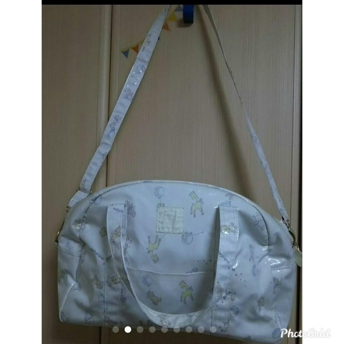 ジェラピケ マザーズバッグ 可愛い ショルダーバッグ ハンドバッグ