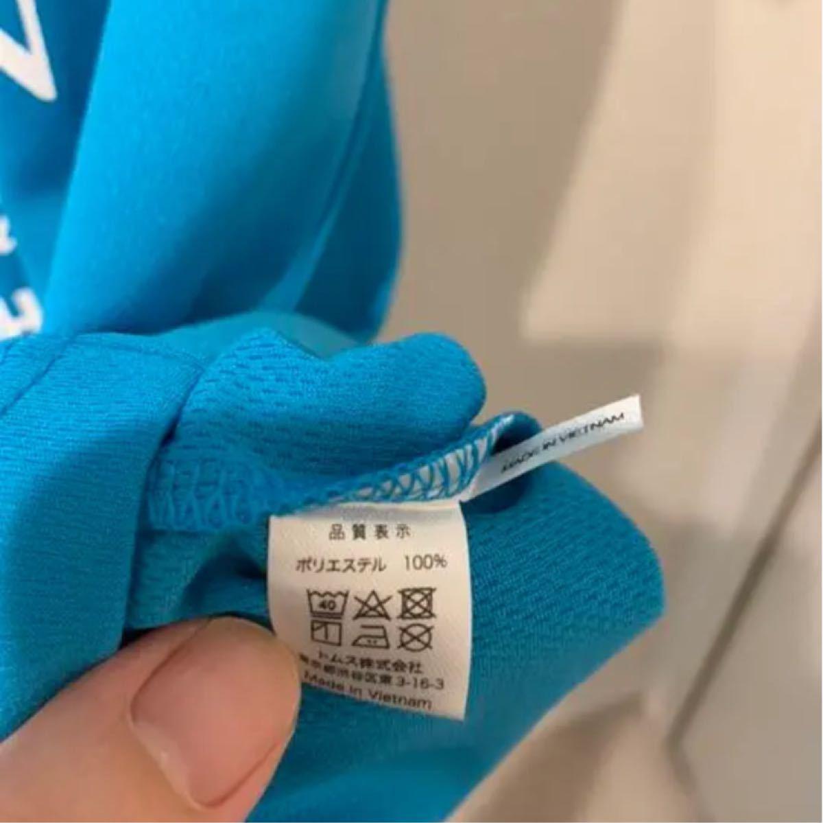 Tシャツ 速乾 トライアスロン 参加賞 ブルー