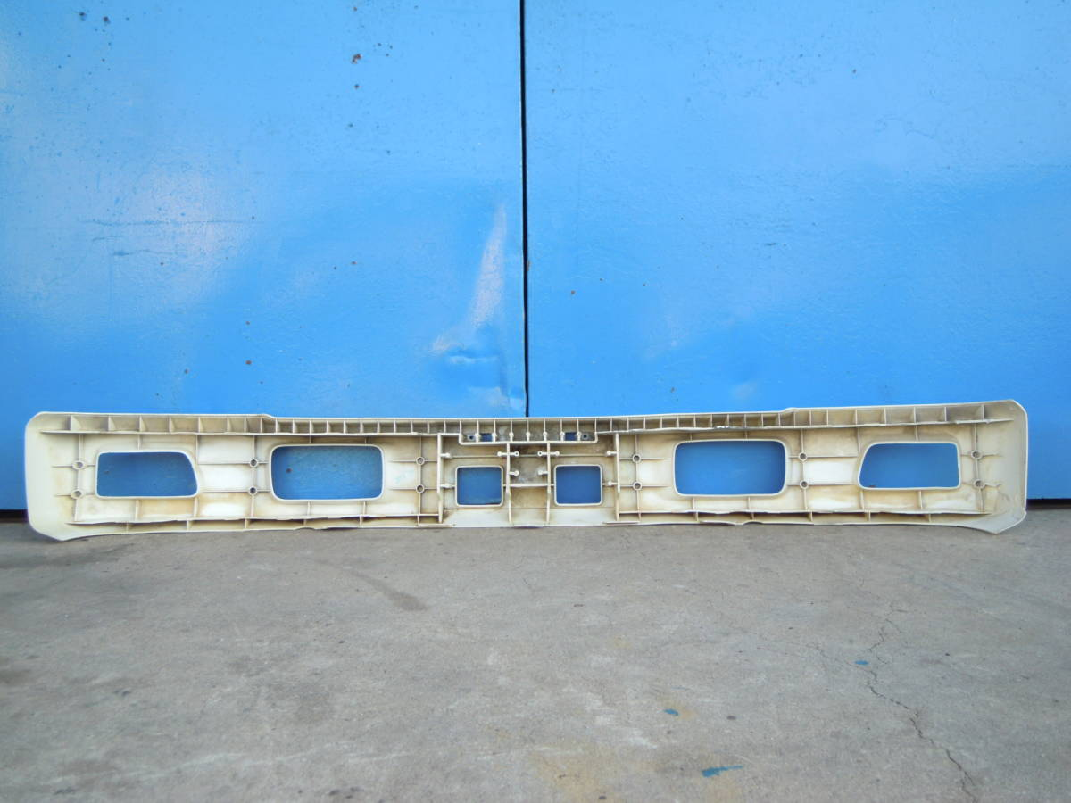 H エルフ 2t 標準 純正 フロントバンパー 167cm_画像6
