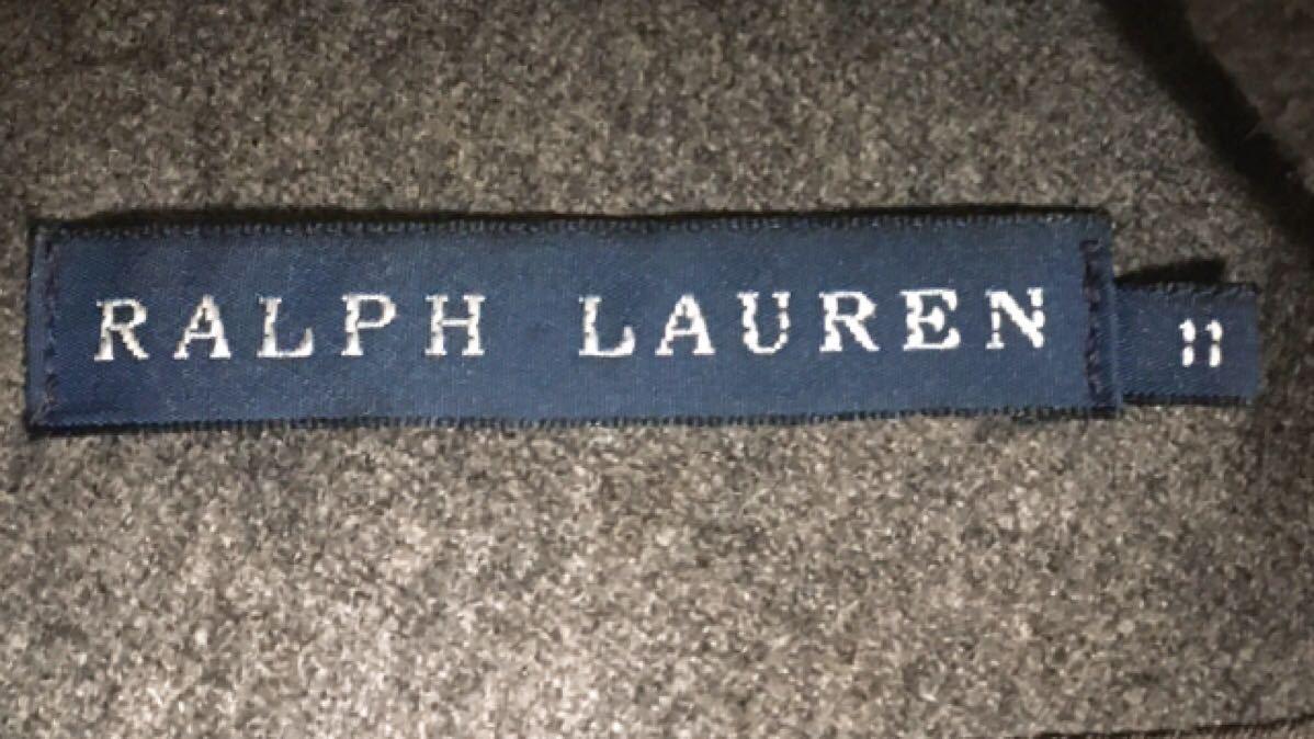 RALPH LAUREN ラルフローレン グレー ロングスカートスーツ レディーススーツ イタリー製 11_画像7
