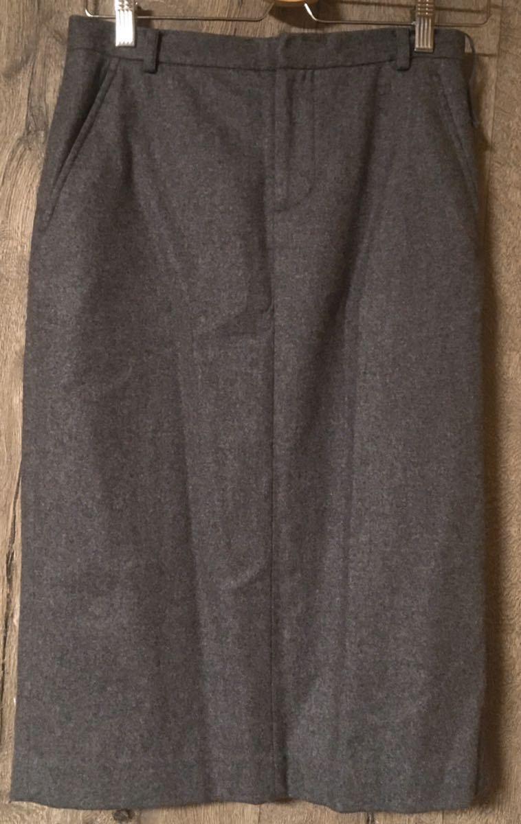 RALPH LAUREN ラルフローレン グレー ロングスカートスーツ レディーススーツ イタリー製 11_画像3