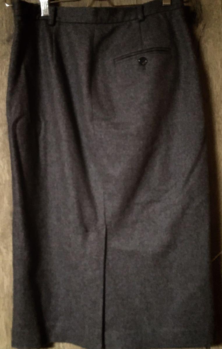 RALPH LAUREN ラルフローレン グレー ロングスカートスーツ レディーススーツ イタリー製 11_画像4