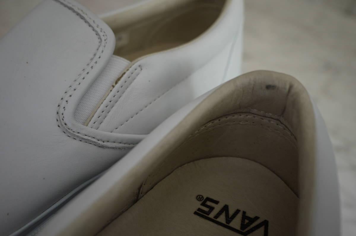 新品 未使用品 正規品 VANS Cls Slip-On LX スリッポンスニーカー ホワイト白 US10/28cm 定価10,000円+税(う)_画像4