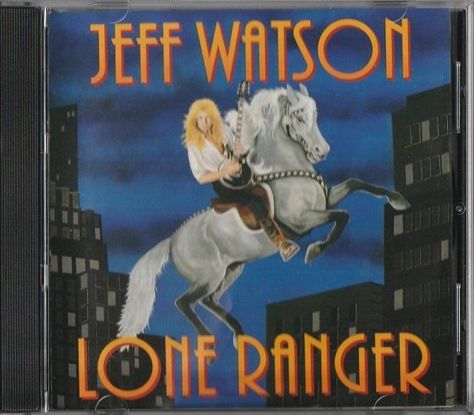 【中古】Jeff Watson / Lone Ranger (輸入盤, 1992年作品) #Allan Holdsworth, Steve Morse, Sammy Hager, Steve Smith, Carmine Appice_画像1
