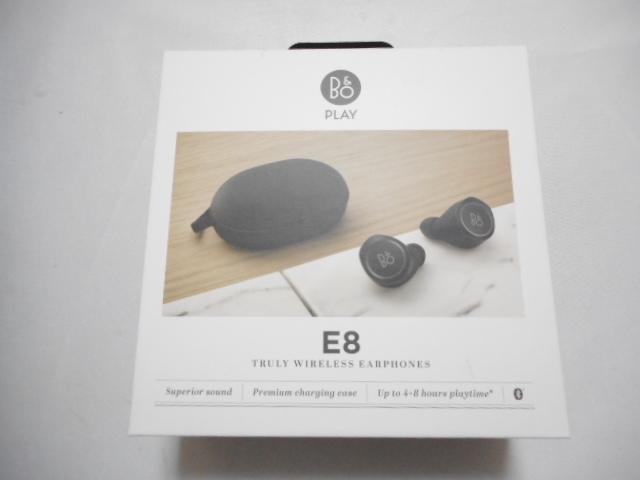 ジャンク扱い□Bang & Olufsen 完全ワイヤレスイヤホン Beoplay E8 NFMI/AAC対応/Siri / 通話対応 ブラック