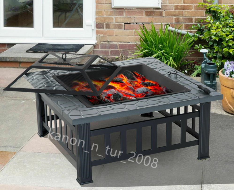 【新品・未使用】ストーブ 炭ストーブ 加熱火鉢 バーベキューストーブ 庭/アウトドア/室内 DR14