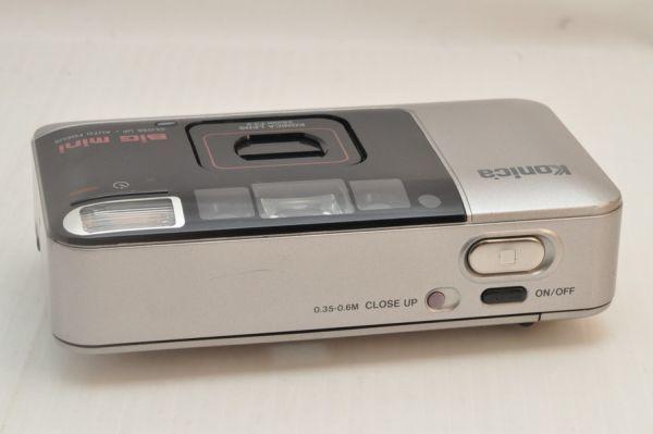 [11420Y1]★緊急大特価★KONICA Big mini 35mm F3.5 初代_これを逃したら次はありません!!