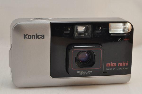 [11420Y1]★緊急大特価★KONICA Big mini 35mm F3.5 初代_専門店より限定入荷しました!!